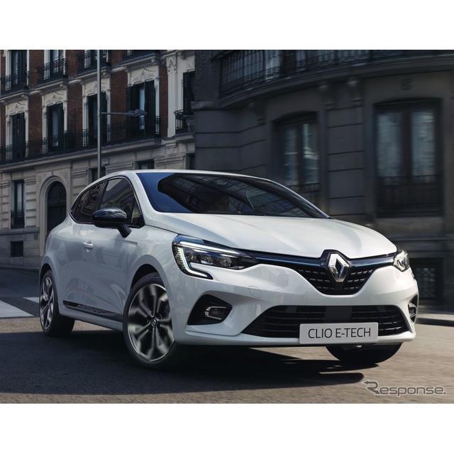 ルノーは6月12日、新型『クリオ』(Renault Clio。日本名:『ルーテシア』に相当)のハイブリッド車の受注...