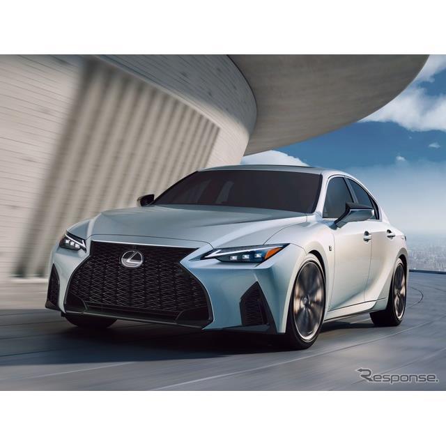 レクサスは6月15日、改良新型『IS』(Lexus IS)を、米国からデジタルワールドプレミアした。  ◆アグレ...