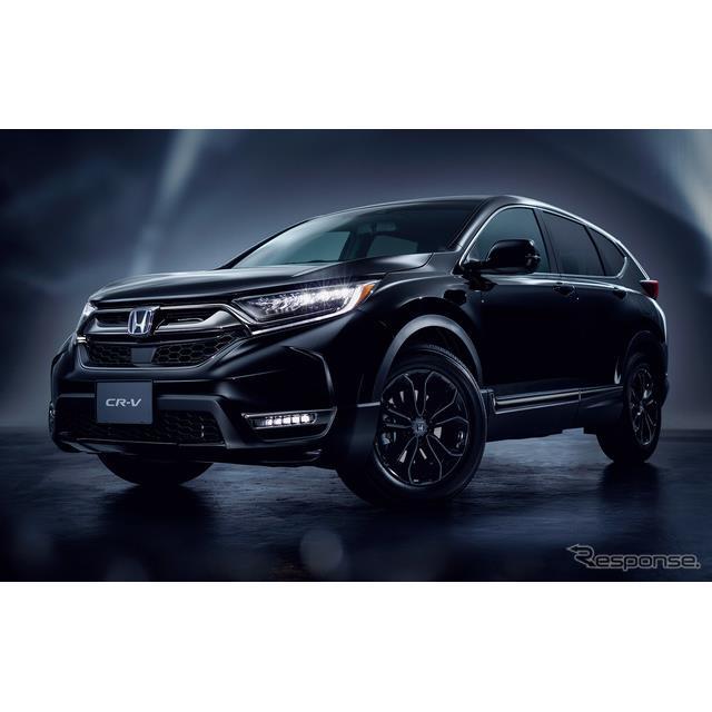 ホンダは、ミドルサイズSUV『CR-V』の日本市場向けモデルを一部改良するとともに、最上級グレード「ブラッ...