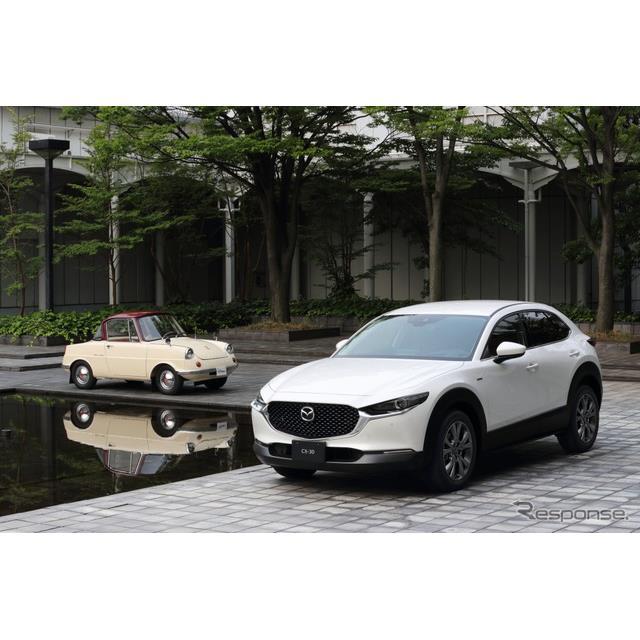 1920年に東洋コルク工業として創業し今年創立100周年を迎えたマツダは、それを記念し「100周年特別記念車」...
