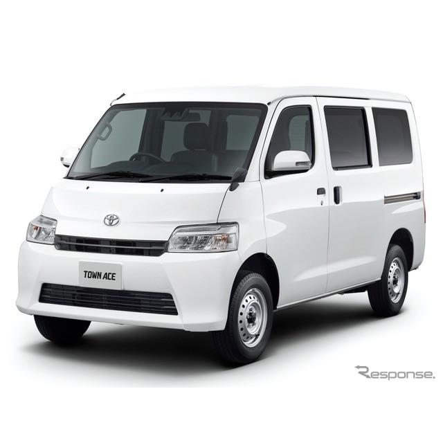 トヨタ自動車は、小型商用車『タウンエース』をマイナーチェンジ、安全装備を充実させるとともに、新開発1....