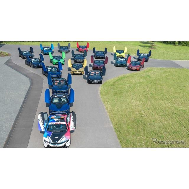 BMWグループは6月25日、プラグインハイブリッド(PHV)スポーツカーの『i8』(BMW i8)の最終モデルを、ド...