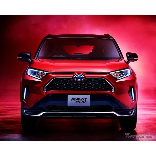 トヨタ自動車が6月8日より販売を開始した『RAV4 PHV』が、すでに年度内の生産分が終了し、現在注文を一時停...
