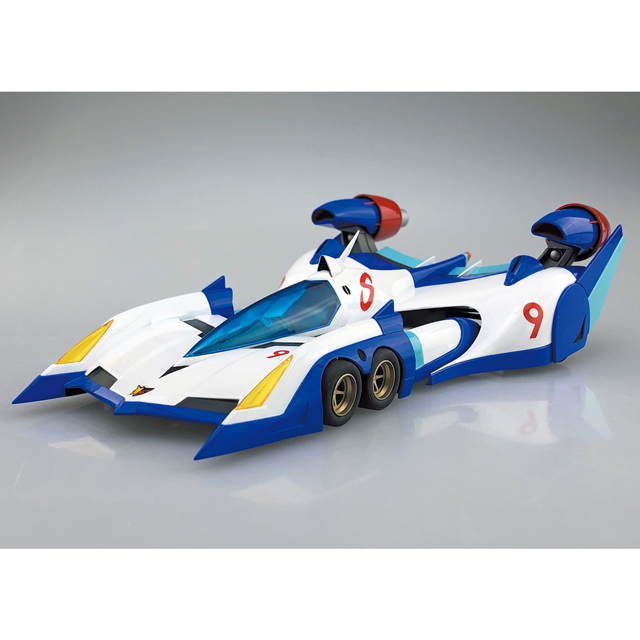 νアスラーダ AKF-0 エアロモード/エアロブーストモード/スパイラルブーストモード