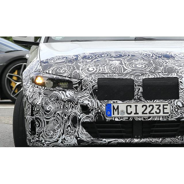 BMW 3シリーズ のEV版、市販型プロトタイプ(スクープ写真)