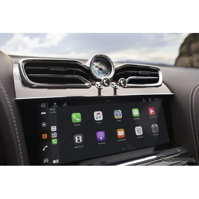 ベントレーは6月30日、『ベンテイガ』(Bentley Bentayga) の改良新型の欧州仕様車に、最新のインフォテイ...