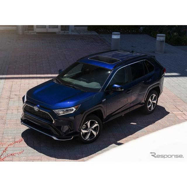 トヨタ自動車の米国部門は7月1日、新型『RAV4』のプラグインハイブリッド車(PHV)、『RAV4プライム』(Toy...
