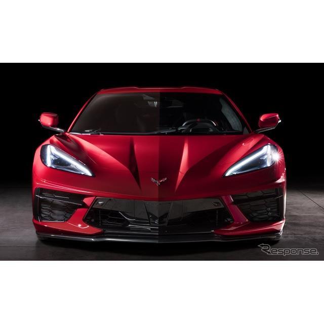 GMのシボレーブランドは7月7日、新型『コルベット・スティングレイ』(Chevrolet Corvette Stingray)の202...