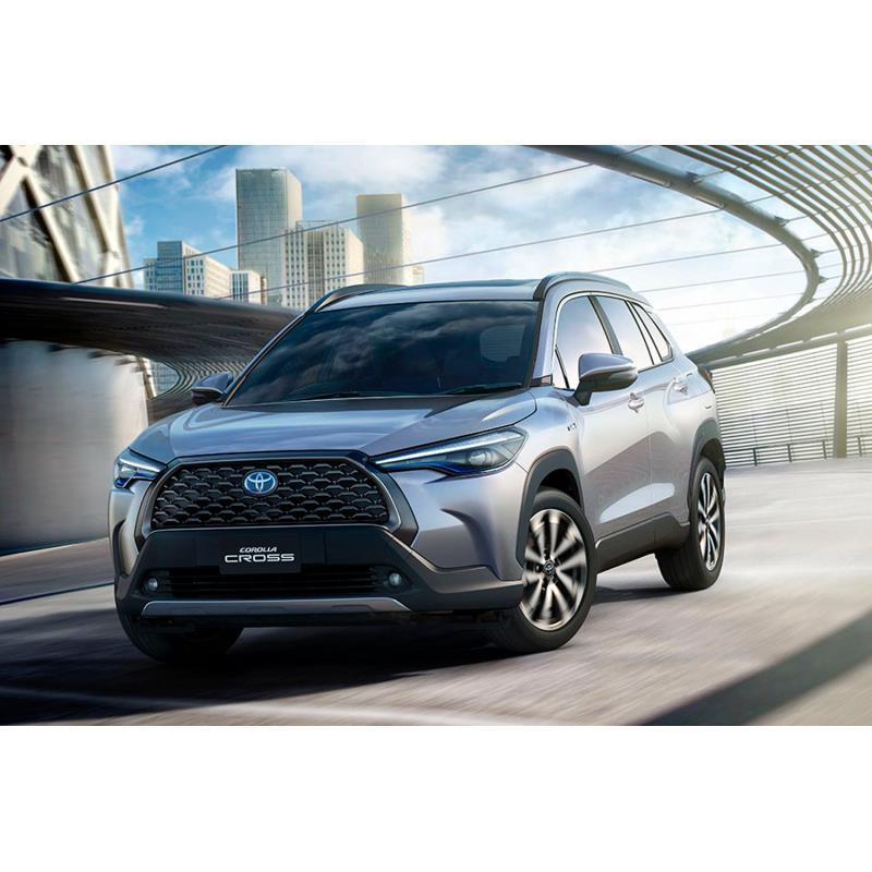 トヨタ自動車は2020年7月9日、新型コンパクトSUV「カローラ クロス」をタイで発表した。  カローラシリー...