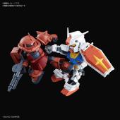 「SDガンダムクロスシルエット RX-78-2 ガンダム&シャア専用ザクII」