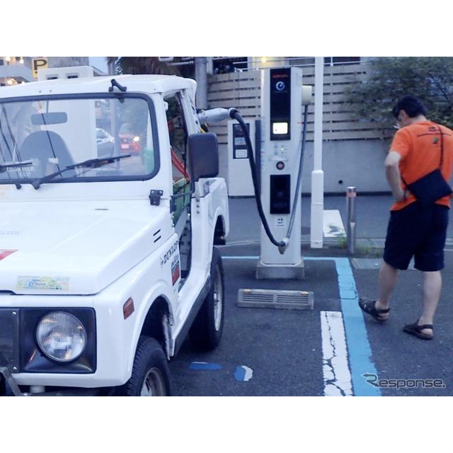 4WD電気自動車による南極点到達を目指す「ZEVEX〜ゼベックス(本部:京都市)」は、スズキ『ジムニー』(SJ...
