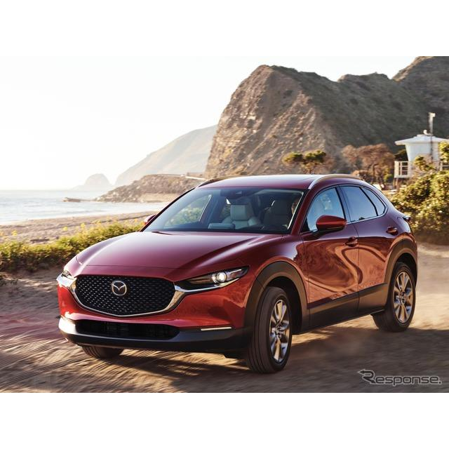 マツダの米国部門の北米マツダは、2021年モデルの『CX-30』(Mazda CX-30)を8月、米国市場で発売すると発...