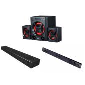 2.1chサラウンドスピーカー LG XBOOM「LK72B」、サウンドバー「SN7CY」および「SK1D」