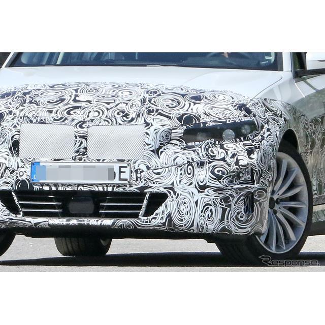 BMWは、主力セダン『3シリーズ』に新たに設定される電気自動車(EV)の開発を進めているが、その最新プロト...