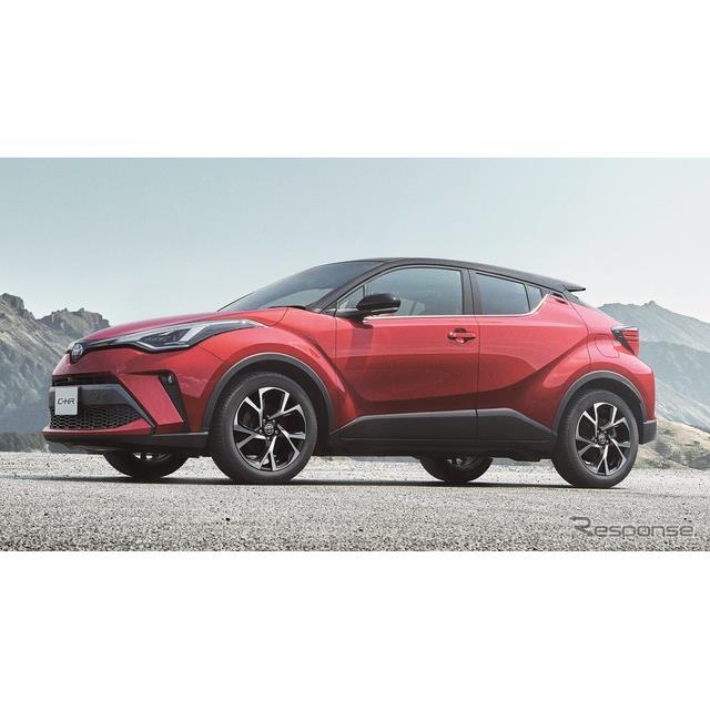 トヨタ自動車は、コンパクトSUV『C-HR』を一部改良するとともに、特別仕様車「モード-ネロ セーフティプラ...