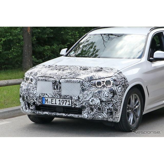 BMWは、初の電気クロスオーバーSUV『iX3』市販型をワールドプレミアしたばかりだが、そのベースとなる『X3...