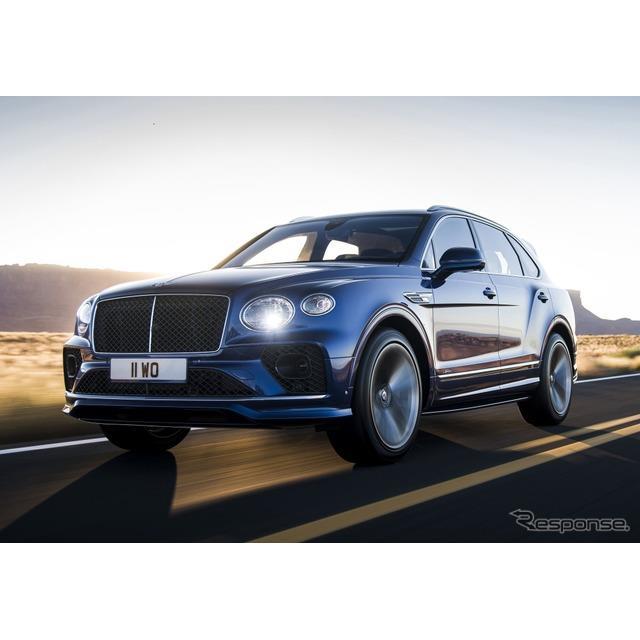 ベントレーは8月12日、改良新型『ベンテイガ スピード』(Bentley Bentayga Speed)を欧州で発表した。改良...