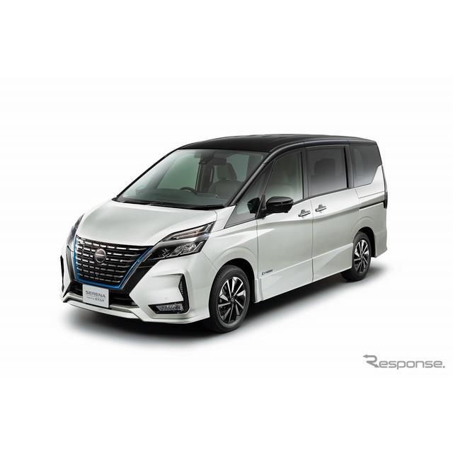 日産自動車は、ミニバン『セレナ』を一部仕様向上し、8月17日より販売を開始する。  セレナは、広々とし...