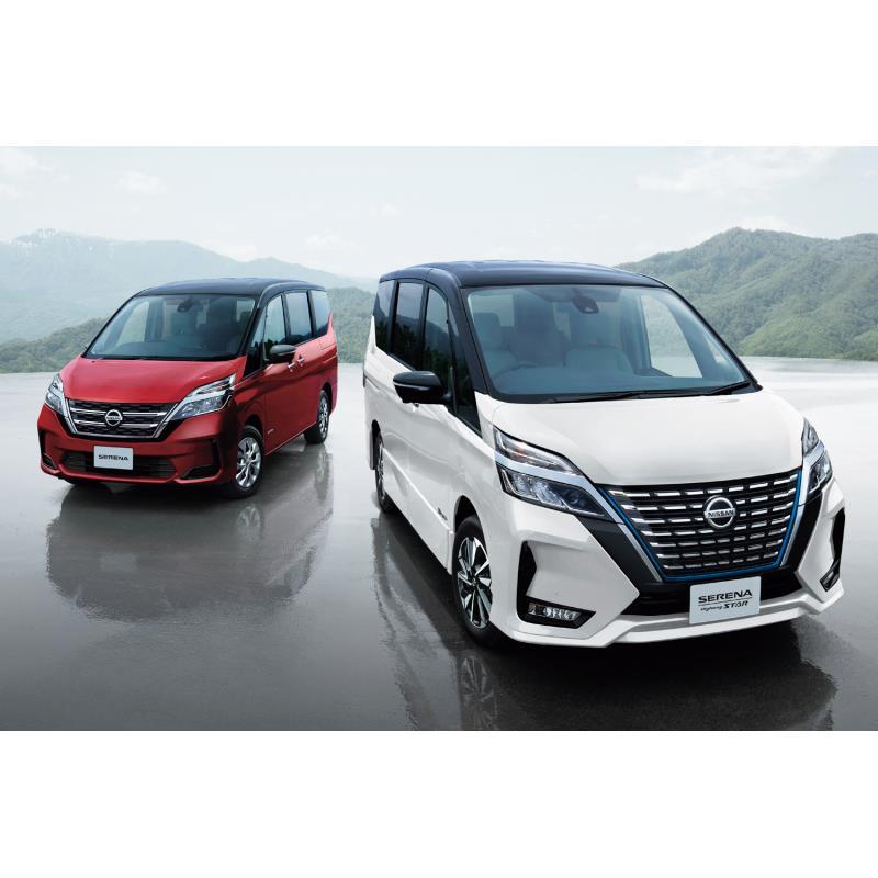 日産自動車は2020年8月17日、ミドルクラスの箱型ミニバン「セレナ」の一部仕様を変更し、同日、販売を開始...