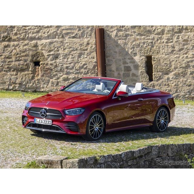 メルセデスベンツは8月10日、『Eクラス・カブリオレ』(Mercedes-Benz E-Class Cabriolet)の改良新型を、...