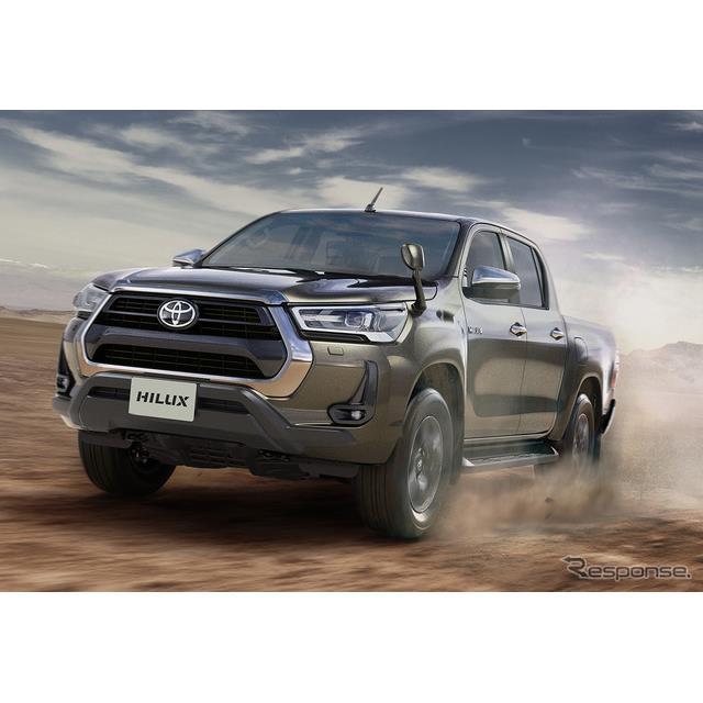 トヨタ自動車は、ピックアップトラック『ハイラックス』をマイナーチェンジし、8月19日より販売を開始した...