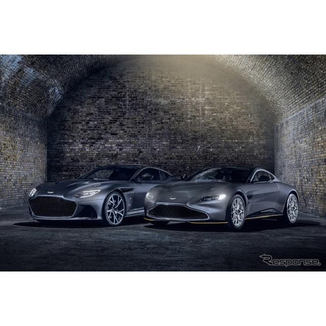 アストンマーティン(Aston Martin)は8月17日、『ヴァンテージ』と『DBSスーパーレッジェーラ』に、「007...