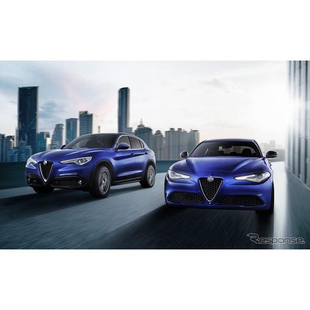 FCAジャパンは、アルファロメオのスポーツサルーン『ジュリア』、SUV『ステルヴィオ』について、先進安全装...
