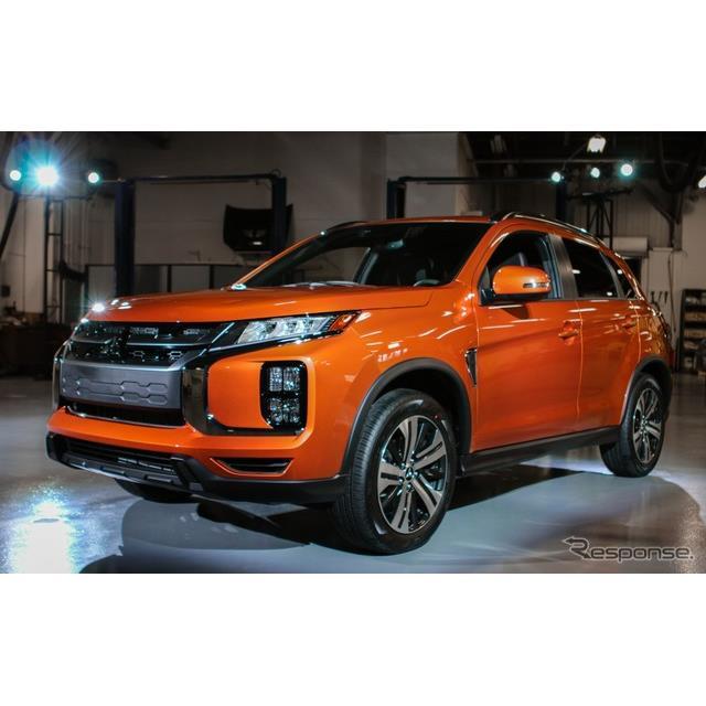三菱自動車の米国部門は今秋、『アウトランダースポーツ』(日本名:『RVR』に相当)の2021年モデルを、米...