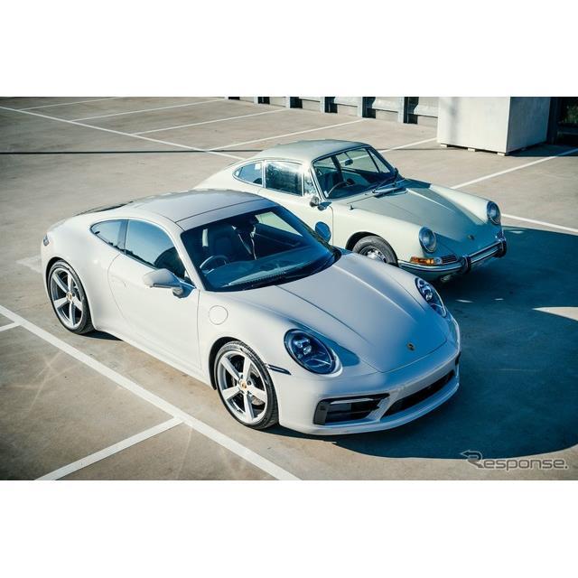 ポルシェ(Porsche)は8月18日、オーストラリアで最初に販売された1965年モデルの初代『911』をモチーフに...