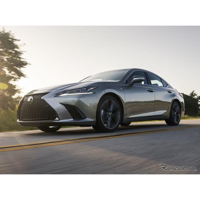 レクサスの米国部門は8月20日、『ES』(Lexus ES)の2021年モデルを発表した。今秋、米国市場で発売される...