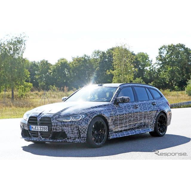 BMWは8月に入り、高性能モデル『M3』に初となる派生ワゴン『M3ツーリング』を設定することを正式発表。しか...