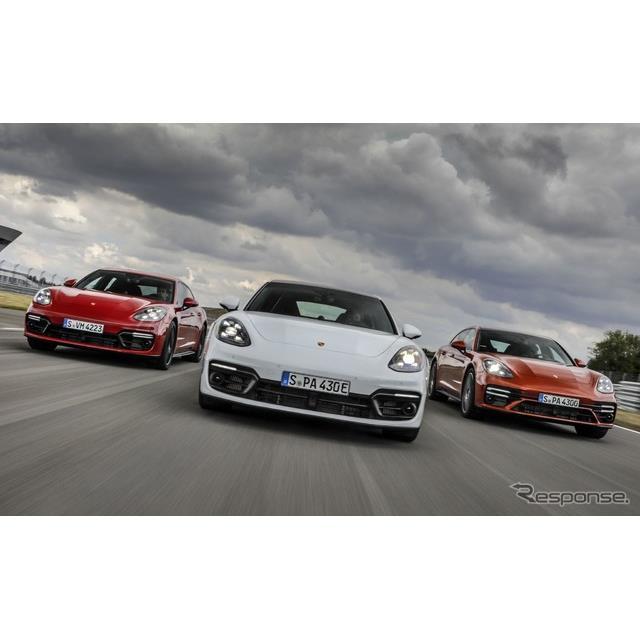 ポルシェは8月26日、改良新型『パナメーラ』(Porsche Panamera)をデジタルワールドプレミアし、同車に最...