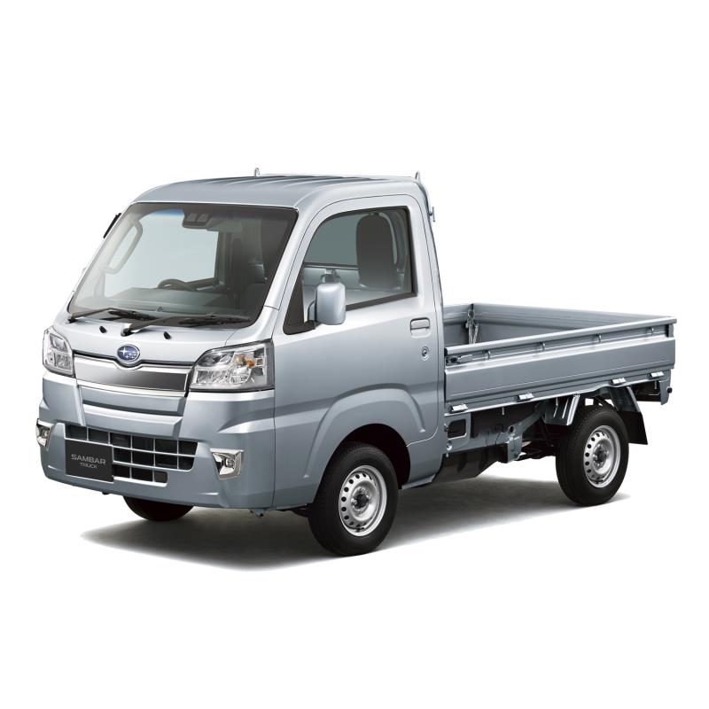 スバルは2020年9月3日、軽商用車「サンバートラック」および「サンバーバン」に一部改良を実施し、同日販売...