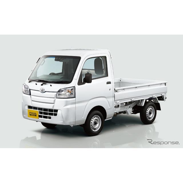 トヨタ自動車は、『ピクシス・トラック』を一部改良し、9月1日より販売を開始した。  ピクシス・トラック...