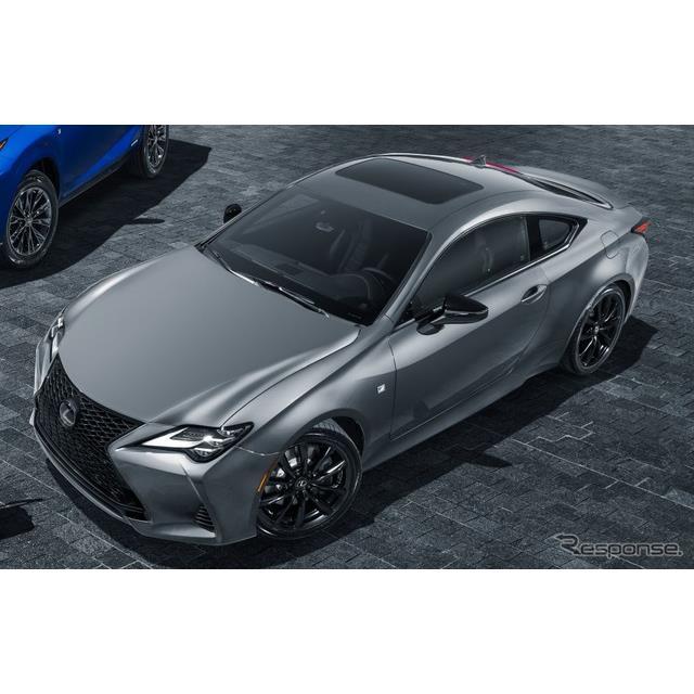 レクサスの米国部門は9月3日、『RC』(Lexus RC)の2021年モデルを米国で発表した。  ◆ブラインドスポッ...