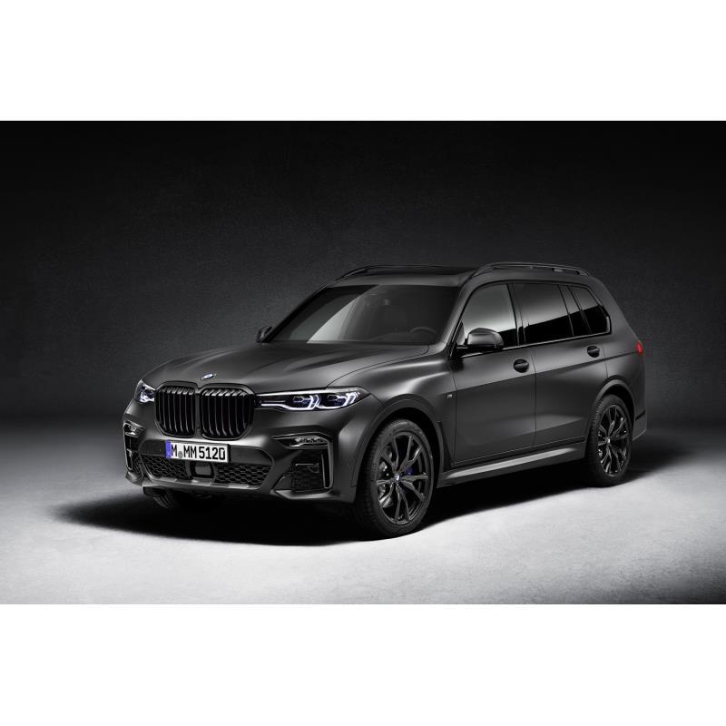 BMWジャパンは2020年9月8日、最上級SUV「BMW X7」に漆黒をテーマに仕立てた特別仕様車「Edition Dark Shado...