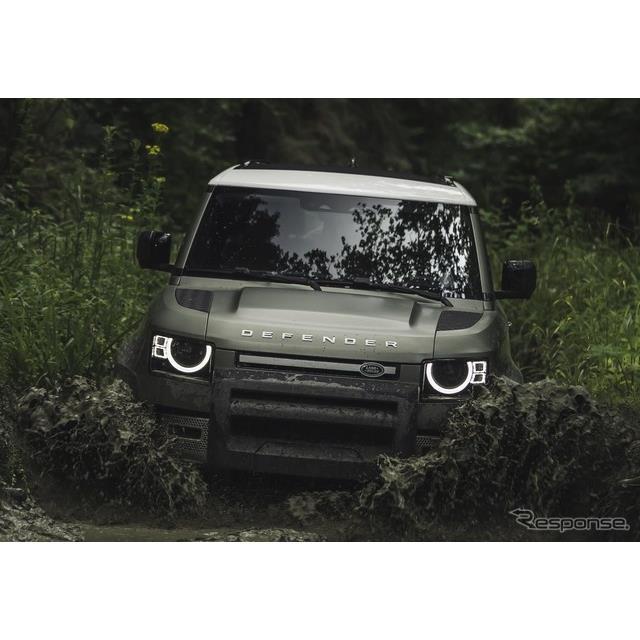 ランドローバーは9月9日、新型『ディフェンダー』(Land Rover Defender)のショートボディ、「ディフェン...