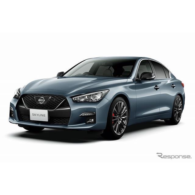日産自動車は、スポーツセダン『スカイライン』を仕様向上し、9月14日より販売を開始した。  世界初の先...
