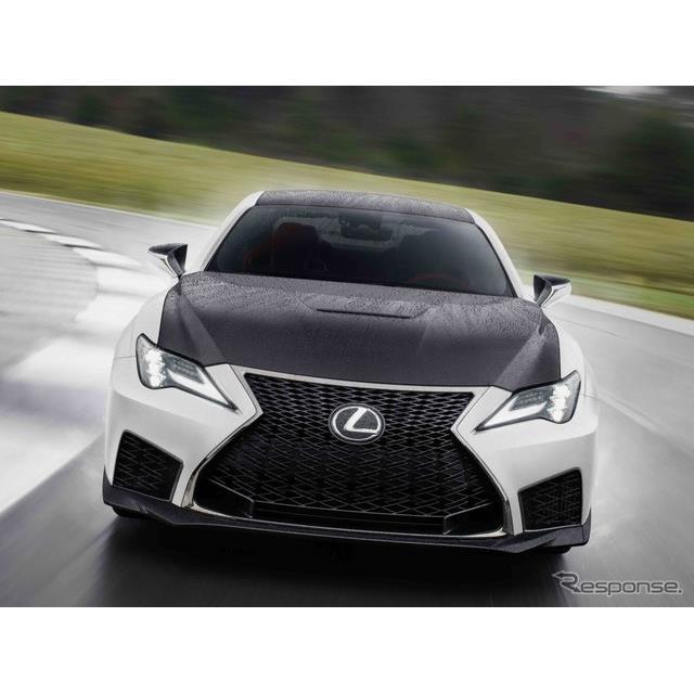 レクサスの米国部門は9月10日、『RC F』(Lexus RC F)の2021年モデルを米国で発表した。  RC Fは、レク...