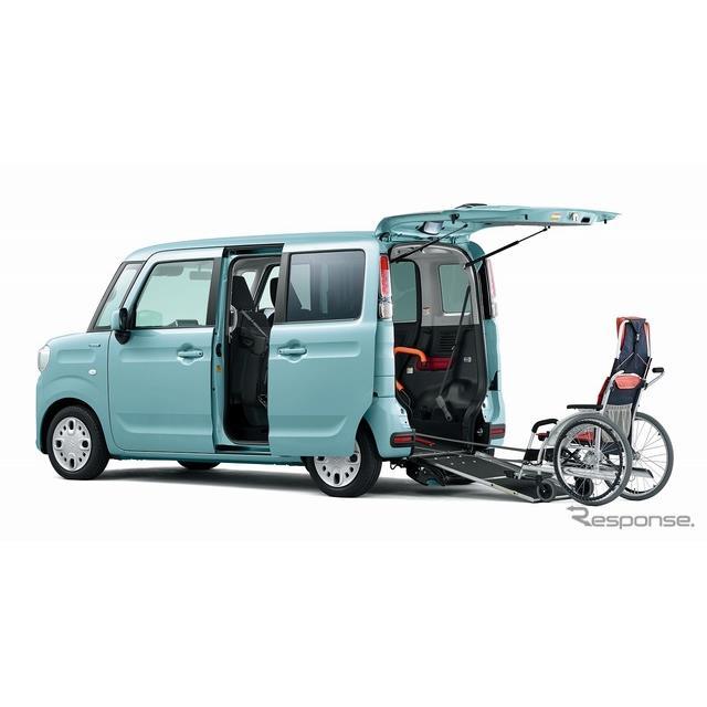スズキは、福祉車両ウィズシリーズの『スペーシア 車いす移動車』の安全装備を充実するなど一部の仕様を変...