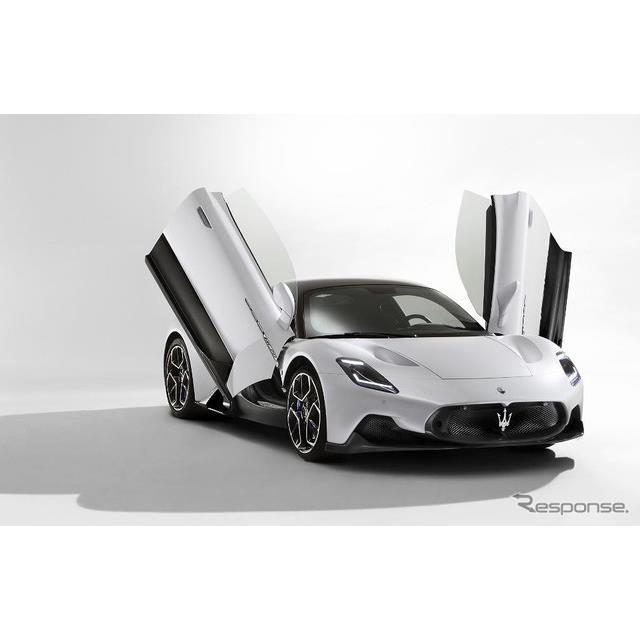 マセラティは9月10日、新型スーパーカーの『MC20』(Maserati MC20)に、電動バージョンを計画していると発...