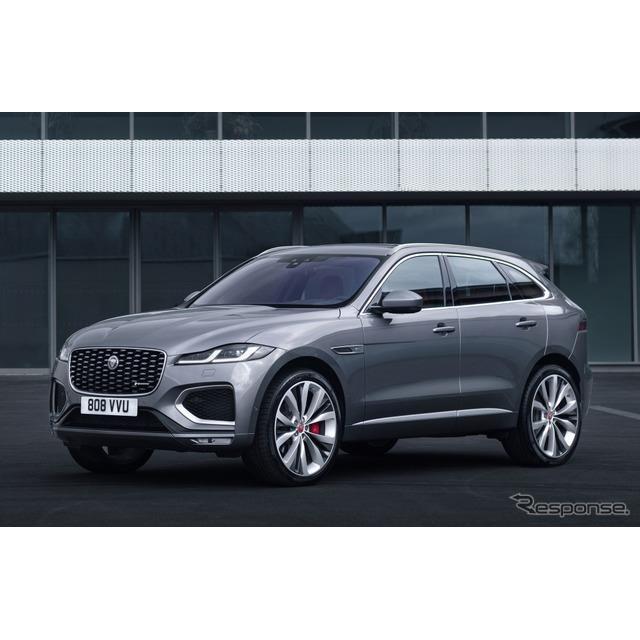 ジャガーカーズは9月15日、SUVのジャガー『F-PACE』(Jaguar F-PACE)の改良新型を欧州で発表した。ジャガ...