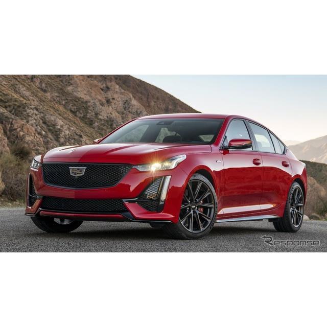 キャデラックは9月10日、中型セダンの『CT5』をベースにした高性能モデル、『CT5-V』(Cadillac CT5-V)の2...