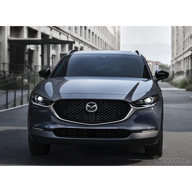 マツダの米国部門の北米マツダは9月17日、『CX-30』(Mazda CX-30)の2021年モデルに「2.5ターボ」を設定し...