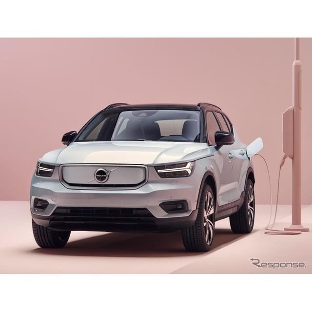 ボルボカーズは9月21日、中国で9月26日に開幕する北京モーターショー2020に、『XC40』のEV、『XC40 リチャ...