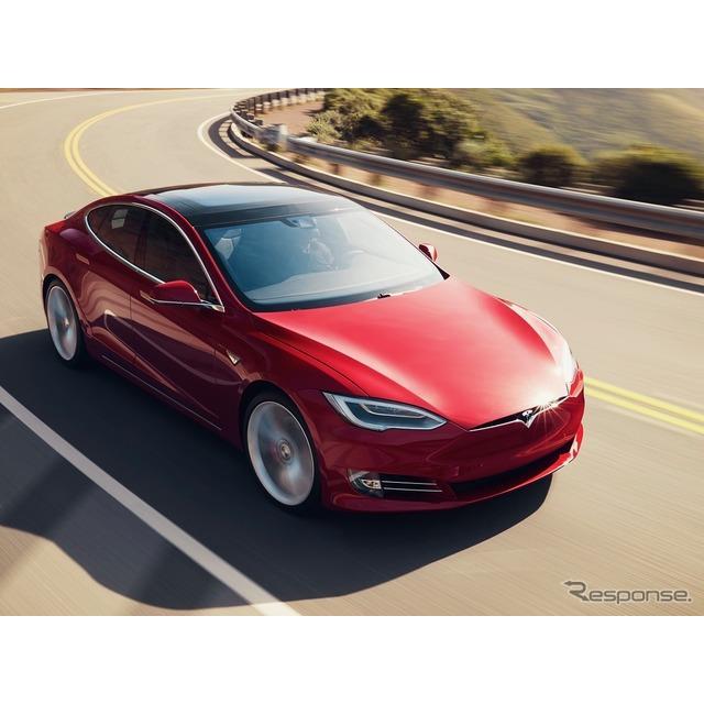テスラは9月23日、『モデルS』に最強グレードの「プレイド」(Tesla Model S Plaid)を設定し、2021年後半...