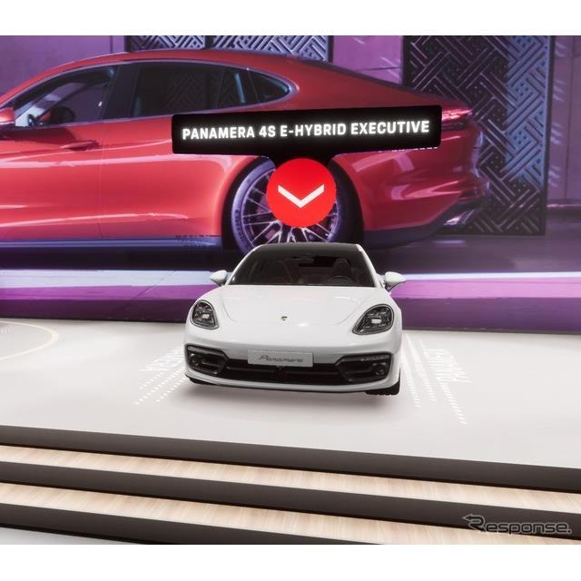 ポルシェは9月26日、中国で開幕した北京モーターショー2020において、改良新型『パナメーラ』(Porsche Pan...