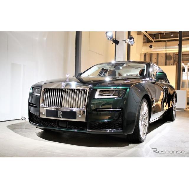 ロールス・ロイス・モーター・カーズは9月1日にグローバルで発表した新型『ゴースト』とそのロングホイール...