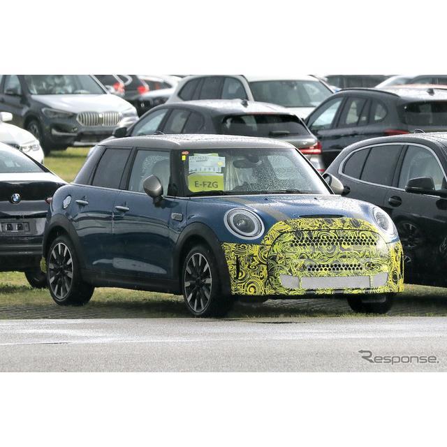 MINIは2020年3月に電気自動車の『クーパーSE』を発表したばかりだが、早くも大幅改良に着手していることが...