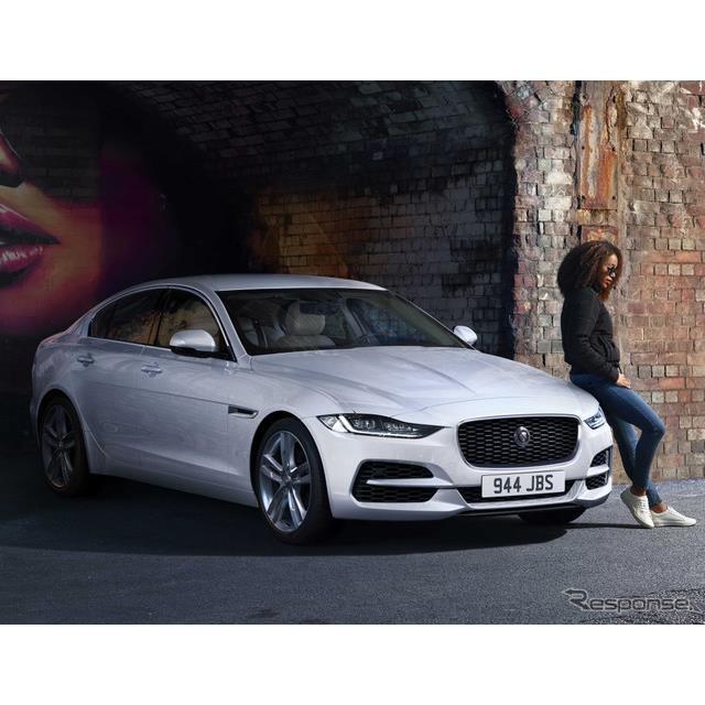 ジャガーカーズは10月6日、ジャガー『XE』(Jaguar XE)の2021年モデルを欧州で発表した。  ジャガーXEは...